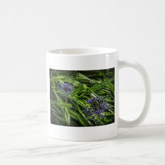 Blue Flower Duo Coffee Mug