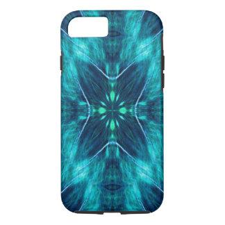 Blue Flower Fractal Design iPhone 7 Case