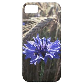 Blue Flower in Grain iPhone SE/5/5s Case