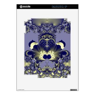 Blue Flower iPad 2 Skins