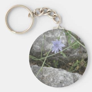 Blue Flower Keychains