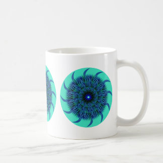 Blue Flower Mandala Mug