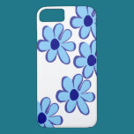 Blue Flower Paradise iPhone 8/7 Case