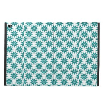 Blue flower patterned powis iPad air 2 case