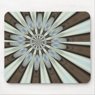 Blue Flower Petals from Sandals Art Mouse Pad
