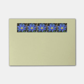 Blue Flower Post-it-notes Post-it® Notes