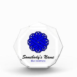 Blue Flower Ribbon Award