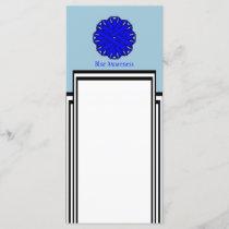 Blue Flower Ribbon by Kenneth Yoncich