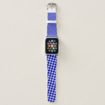 Blue Flower Ribbon by Kenneth Yoncich Apple Watch Band