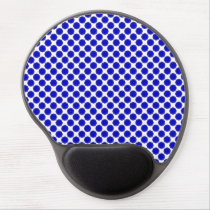 Blue Flower Ribbon by Kenneth Yoncich Gel Mouse Pad