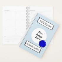 Blue Flower Ribbon by Kenneth Yoncich Planner