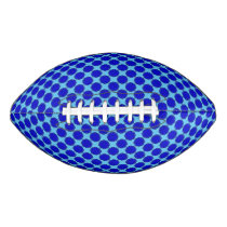Blue Flower Ribbon Football