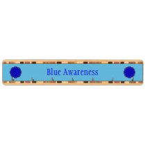 Blue Flower Ribbon Key Rack