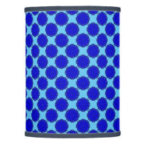 Blue Flower Ribbon Lamp Shade