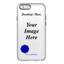 Blue Flower Ribbon Template Incipio Feather Shine iPhone 6 Case