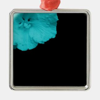 blue flower short prop metal ornament