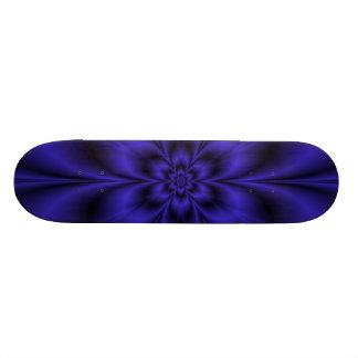 Blue Flower Skateboard