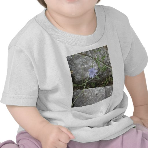 Blue Flower Tshirts