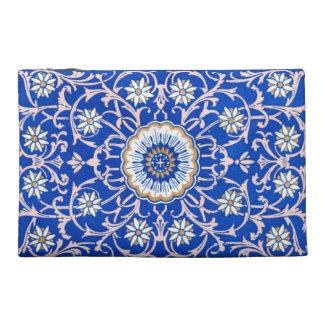 Blue Flower Vintage Playing Card Pattern bag