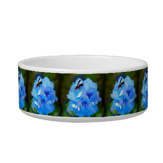 Blue Flower with Company Bowl