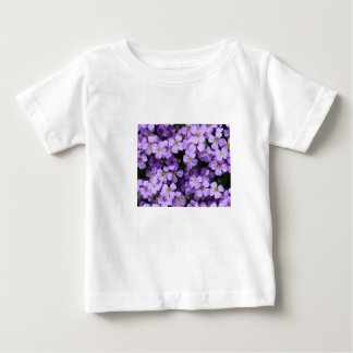 Blue Flowers Baby T-Shirt
