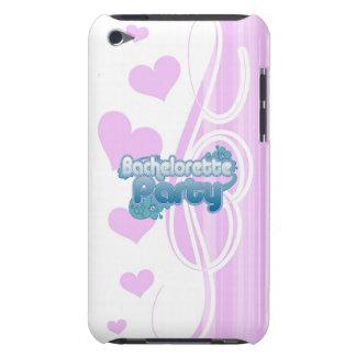 blue flowers bachelorette party ocean bridesmaids iPod touch case