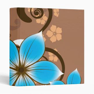 Blue Flowers Binders