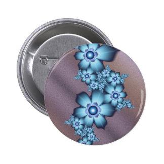 Blue flowers pins