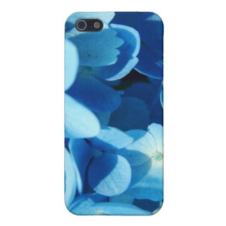 blue flowers case for iPhone SE/5/5s