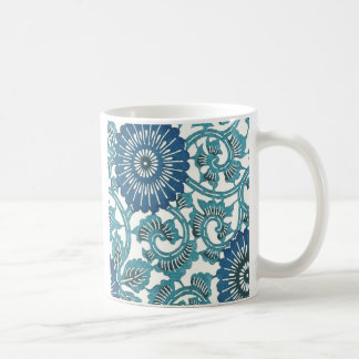 Blue Flowers Coffee Mugs