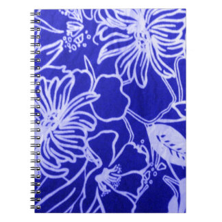 Blue Flowers Design by Admiro Notebook