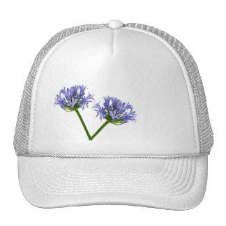 Blue Flowers Hats