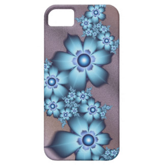 Blue flowers iPhone 5 case