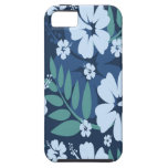 Blue Flowers iPhone 5 Covers