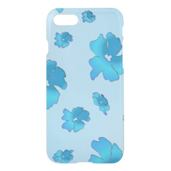 Blue Flowers iPhone 7 Case