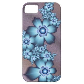 Blue flowers iPhone SE/5/5s case