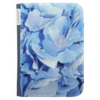 Blue Flowers Kindle 3G Cover