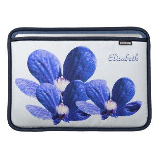 Blue Flowers MacBook Air Sleeve