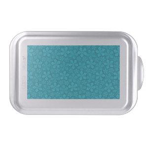 Blue Flowers pattern Cake Pan