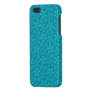 Blue Flowers pattern Case For iPhone SE/5/5s