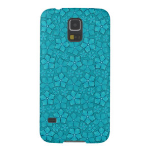 Blue Flowers pattern Galaxy S5 Cover