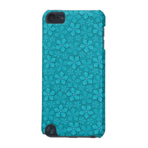 Blue Flowers pattern iPod Touch 5G Case