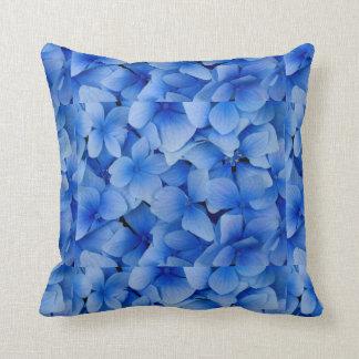 Blue Flowers Pillow
