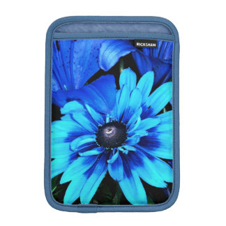 Blue Flowers Sleeve For iPad Mini