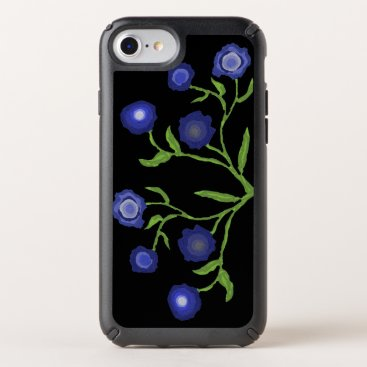 Blue Flowers Speck iPhone Case