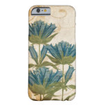 Blue Flowers Vintage Wedding iPhone 6 Case