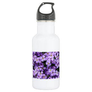 Blue Flowers Water Bottle