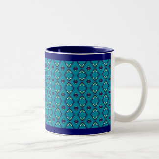 Blue Floyd Two-Tone Coffee Mug