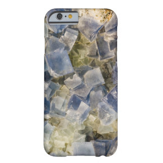 Blue Fluorite Crystals in Matrix Barely There iPhone 6 Case