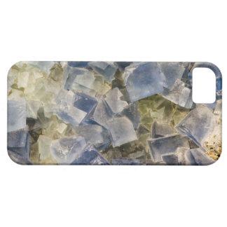 Blue Fluorite Crystals in Matrix iPhone SE/5/5s Case